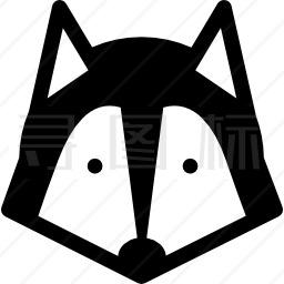 西伯利亚雪橇犬图标