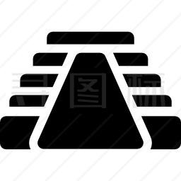 玛雅金字塔图标