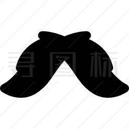 墨西哥胡子图标