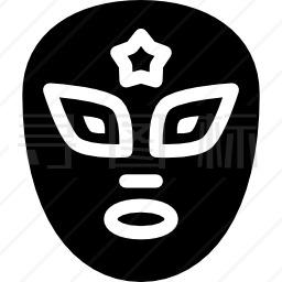 墨西哥面具图标