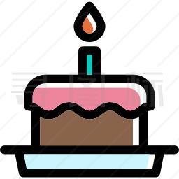 生日蛋糕图标