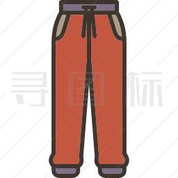 运动裤图标
