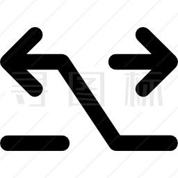 箭头交叉图标