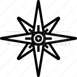 指南针图标