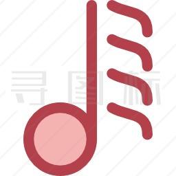 六十四分音符图标 有svg Png Eps格式 寻图标
