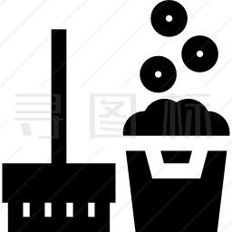 清洁工具图标