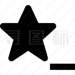 五角星图标 有svg Png Eps格式 寻图标