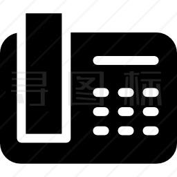 电话接收机图标