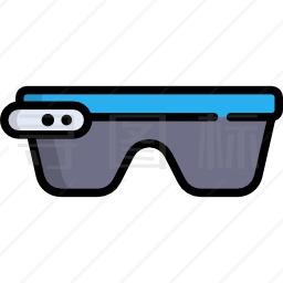 智能眼镜图标 有svg Png Eps格式 寻图标