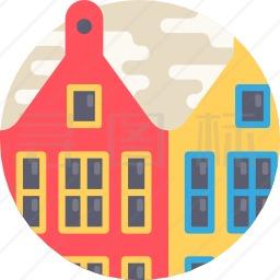 荷兰建筑图标