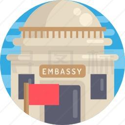 大使馆图标