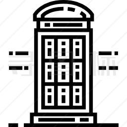 电话亭图标