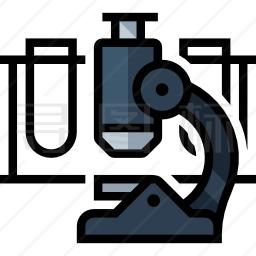 显微镜图标