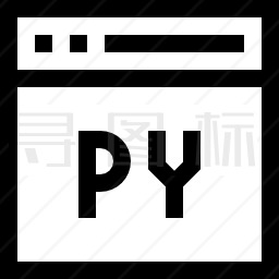 Python图标-有SVG,PNG,EPS格式-寻图标
