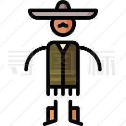墨西哥人图标