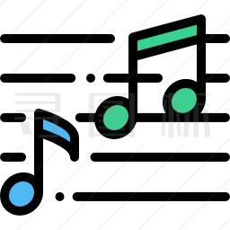音符图标 984个音符图标icon图标批量下载 Png Eps Psd Ico Svg格式 寻图标