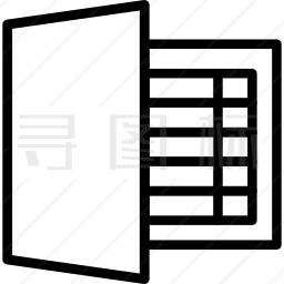 Excel图标 有svg Png Eps格式 寻图标