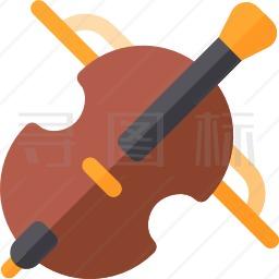 大提琴图标