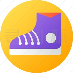 帆布鞋图标