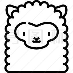 羊驼图标 有svg Png Eps格式 寻图标