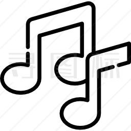 音符图标 1440个音符图标icon图标批量下载 Png Eps Psd Ico Svg格式 寻图标