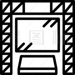 大屏幕图标