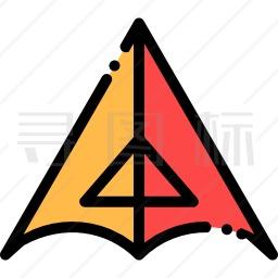 悬挂式滑翔机图标