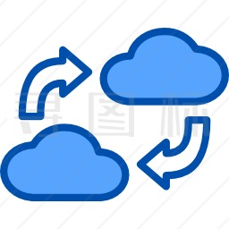 云存储图标 有svg Png Eps格式 寻图标