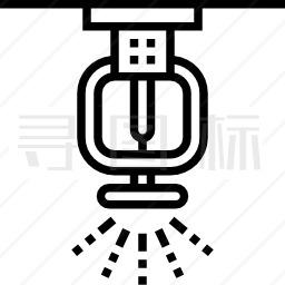 洒水器图标