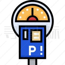 停车收费表图标