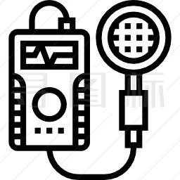 辐射探测器图标