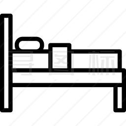 酒店床位图标