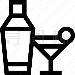 摇酒器图标