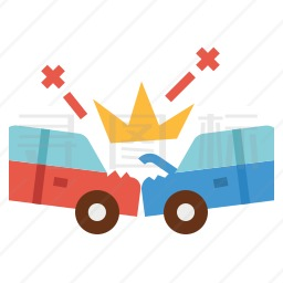 交通事故图标