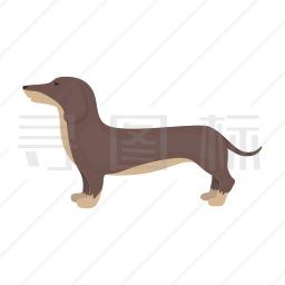 腊肠犬图标