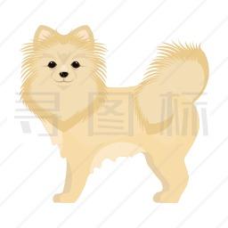 银狐犬图标