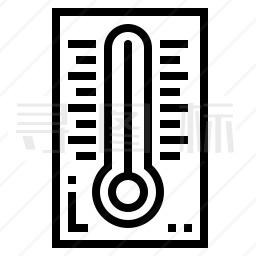 温度计图标