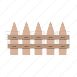 木栅栏图标