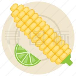 煮玉米图标