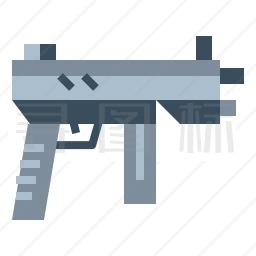 冲锋枪图标