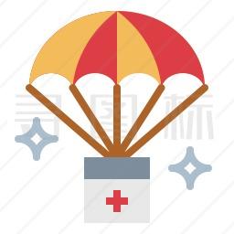 降落伞图标