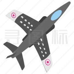 作战飞机图标