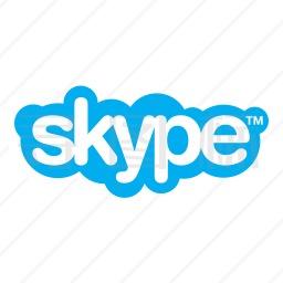 Skype图标