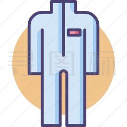 防护服装图标