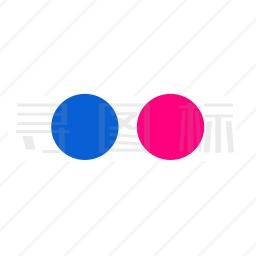 Flickr标志图标