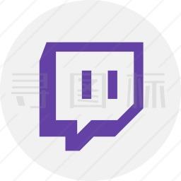 Twitch标志图标