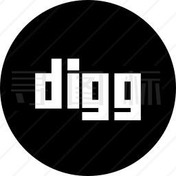 Digg标志图标
