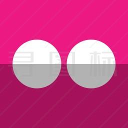 Flickr图标
