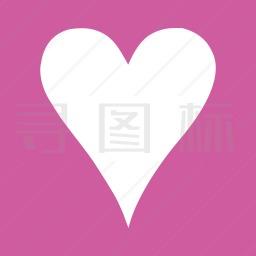 心形标志图标