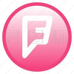 Foursquare图标